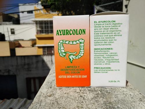 Ayurcolon Suplemento Dietetico Para Curar Y Sanar Colon