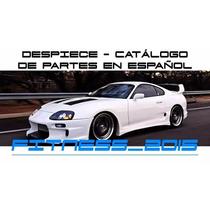 Manual Despiece Catalogo Toyota Supra 1993 - 1996 Español