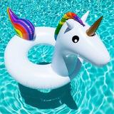 Salvavidas Flotador De Unicornio Grande. Niñas Y Adultas. Ss