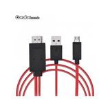 Cable Adaptador Mhl A Hdmi Micro Usb A Hdmi Hd