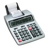Calculadora De Impresión Portátil Casio Lcd De 12 Dígitos,
