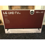 Tv Smart Lg 4k 43 Pulgadas