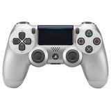 Sony Dualshock 4 Control Plateado Para Playstation 4 Ps4