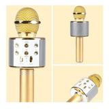 Microfono Inhalambrico Bluetooth Karaoke