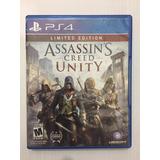 Assassin Creed Unity Ps4