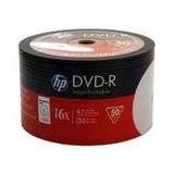 Dvd-r Hp 16x White Printeable (50 Pack)