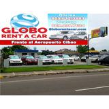 Rent Car, Globo, Renta, Alquiler, Vehículos, Coches, Rep.d