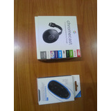 Chromecast Versión 2 + Control Bluetooth Mini