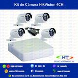 Kit De Camara Hikvision Hd 720p 1080p La Mejor Resolucion