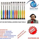 Kit De Destornilladores R&b Tools