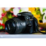Camara Nikon D3400 Nueva, Solo 2600 Disparos.