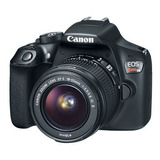 Camara Canon Rebel T6 1300d Con Lente 18-55mm Is Dslr Nueva