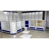 Vitrinas, Tramerias, Exhibidores Y Mobiliario Para Farmacias