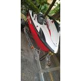 Jetsky Yamaha Fzr 1800 2014 Blanco Con Rojo Con Su Remolque