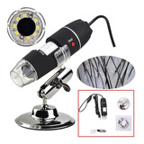 Microscopio Digital Usb X1600 Aumento / Celular Y Pc / Lupa