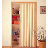 Puerta Plegable De Pvc Color Beige
