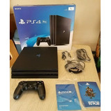 Playstation 4 Pro 1tb Black Console