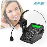 Agptek Hand-free Call Center Cancelación De Ruido Auricular
