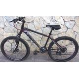 Bicicleta Mountainbike Trx 6 26 Aluminio Disco 2019 Zona Col