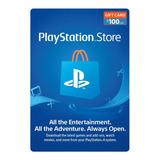 Psn Playstation Ps4 Store 100 Usd Codigo Digital Para Juegos