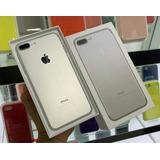 iPhone 7 Plus Silver De 128gb D. Bloqueo De Factory Nuevo