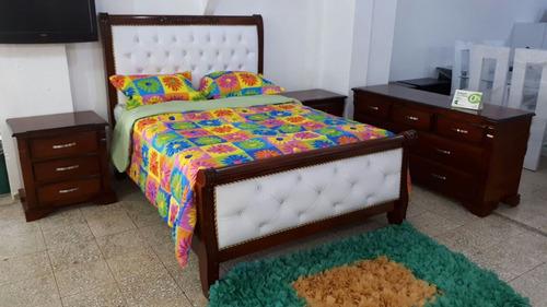 Excepcional Cama Tapizada Juegos De Muebles Friso - Muebles Para ...