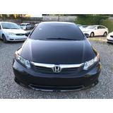 Honda Civix Lx 2012 Eco Negro
