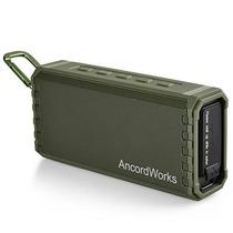 Ancordworks Altavoz Bluetooth Portátil Hifi Sound Bass Enhan