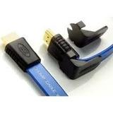 Cables Hdmi Extra Plano Con Cabezas Moviles De 5 Pies