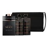 Set De Perfume Bvlgari Man In Black Original.