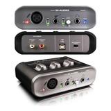 Interfaz De Audio Tarjeta De Sonido M Audio Fast Track