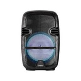 Bocina Coby 8 Pulgs. Con Microfono, Control, Bluetooth, Negr