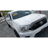 Toyota Tacoma Cabina Y Media 4x4 Blanca 2013