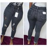 Pantalones Jeans De Mujer