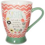 Pavilion Gift Company 74036 Sister Taza De Ceramica 16 Oz Mu