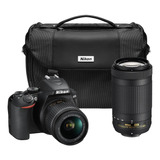 Nikon D3500 Combo 2 Lentes (18-55 Y 70-300) Mas Estuche