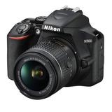 Nikon D3500 Con Lente 18-55mm Vr Camara Digital Dslr