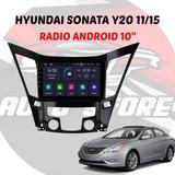 Radio De Pantalla Para Hyundai Y20 Año 11/15 Sistema Android