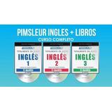 Curso De Ingles Pimsleur Audio Mp3 + Libros Pdf