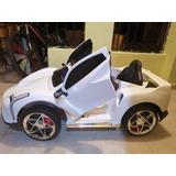 Carro Eléctrico Para Niños Y Niñas Ferrari F40