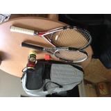 Juego De Raquetas Y Bulto Profesionales