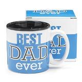 Best Dad Ever 13oz Coffee Mug Ideal Para El Día De Padres O