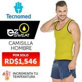 Camisilla Deportiva Reductor Hombre Tecnomed Neopren Tec9101