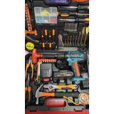 Taladro Inalambrico 21 Vatio  2 Baterias Y Cargador Y Caja D