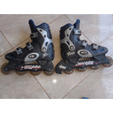 Patines Chicago Negros Size 8m/10f