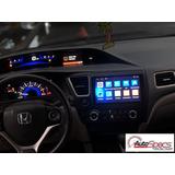 Radio Android Gps Wifi Para Honda Civic 2012-13-14-2015-2016