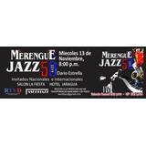 Boletas 50 Aniversario Fiesta Merengue-jazz