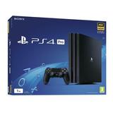 Ps4 Pro 1 Tb Sony Playstation 4 Pro 4k + 2 Juegos 1 Control