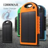 Cargador Solar Portatil Powerbank 12000mah