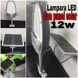 Lampara Led Con Panel Solar Y Foto Celda